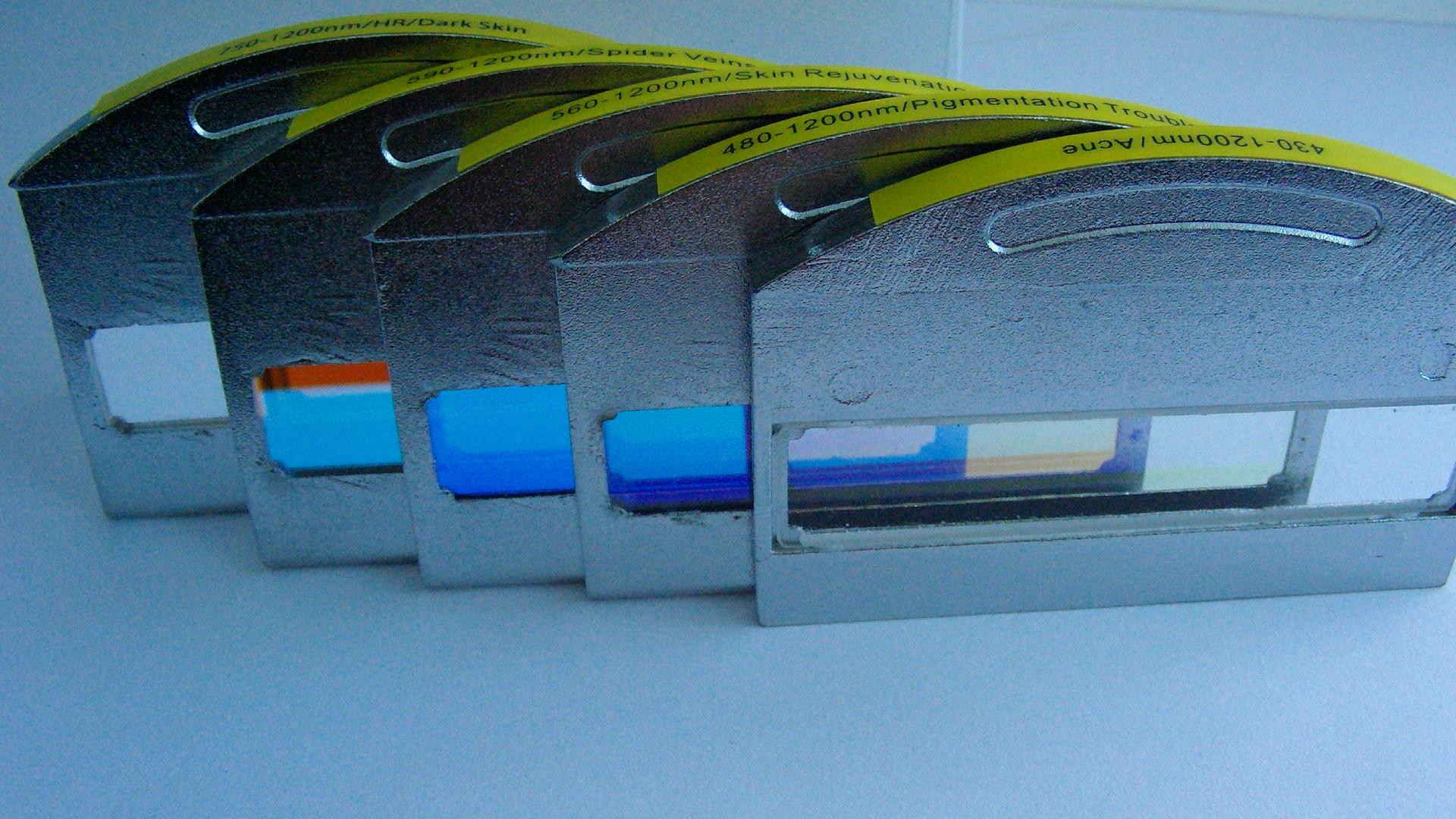 lp560nm高通滤光片,美容波片,医疗仪器专用滤光片图片