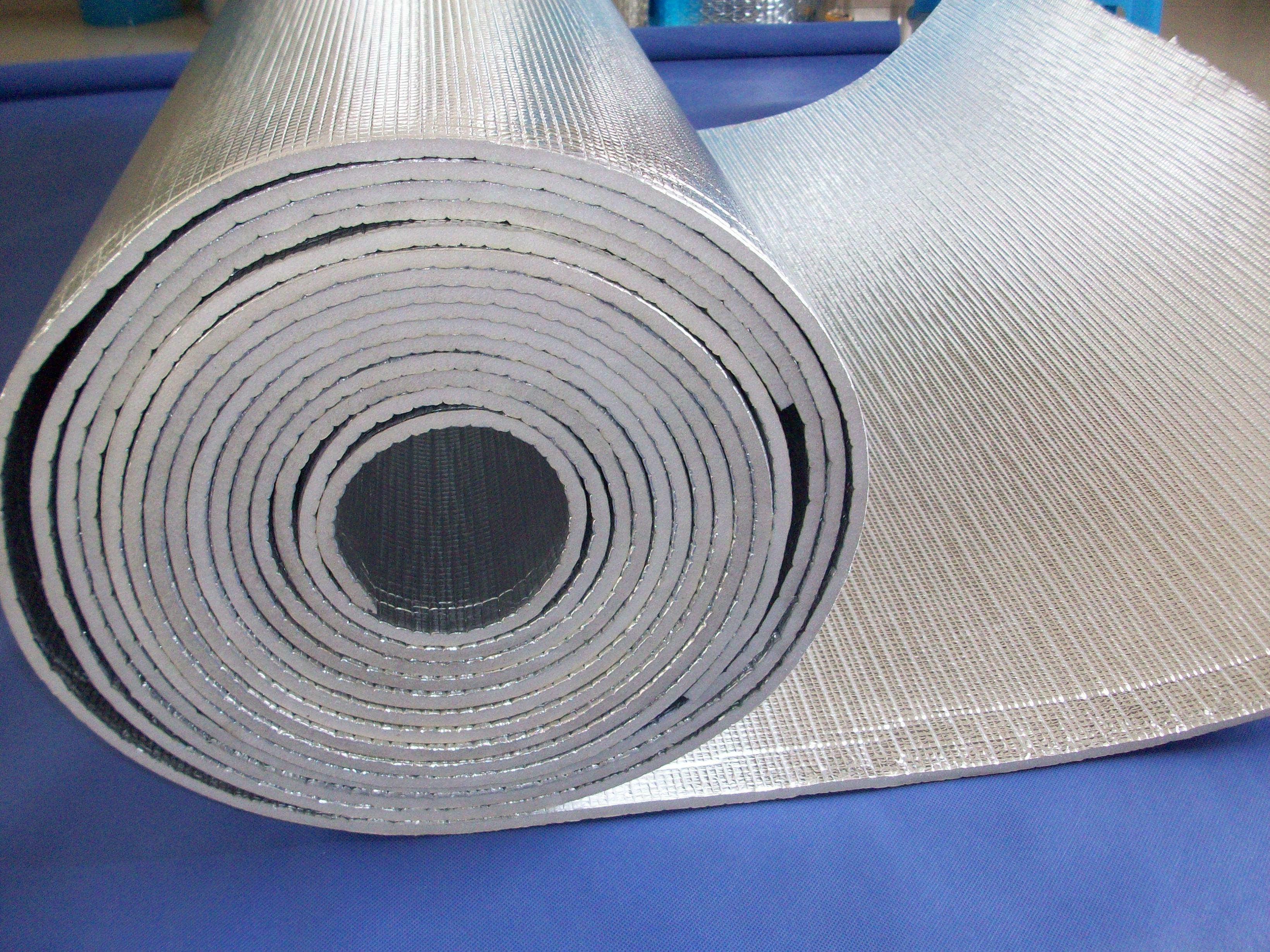 新型钢结构屋顶隔热反射材料 新型节能环保材料-铝箔编织布复合 xpe