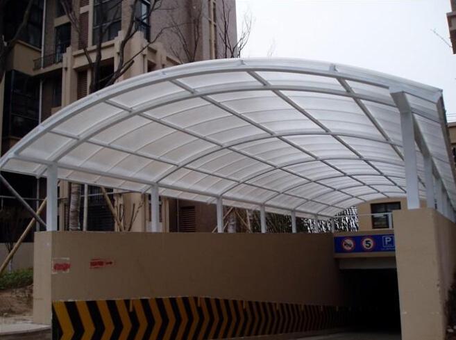 2,骨架材料:碳钢骨架,型钢骨架,不锈钢骨架;   3,顶棚:玻璃,阳光板
