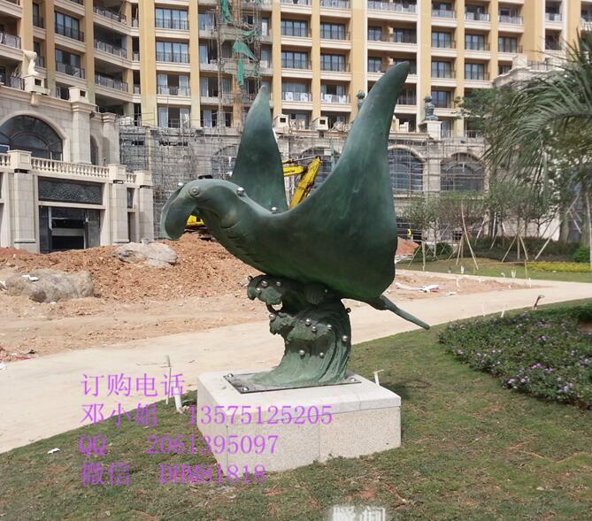 荆州海龟雕塑厂家玻璃钢仿铜乌龟雕塑树脂海洋爬行动物龟雕塑摆件