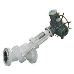 耐压y型电动浆料阀    产品名称:电动y型浆料阀    产品型号:js945y图片