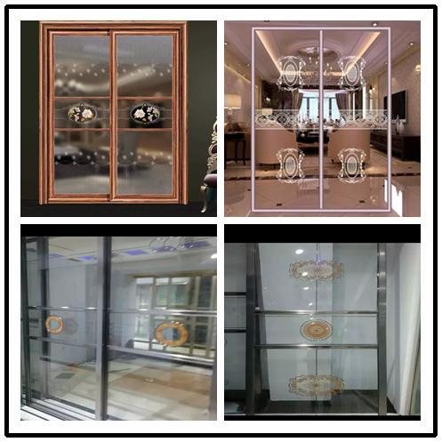 供应成品隔断门玻璃隔断门阳台厨房卫生间门图片