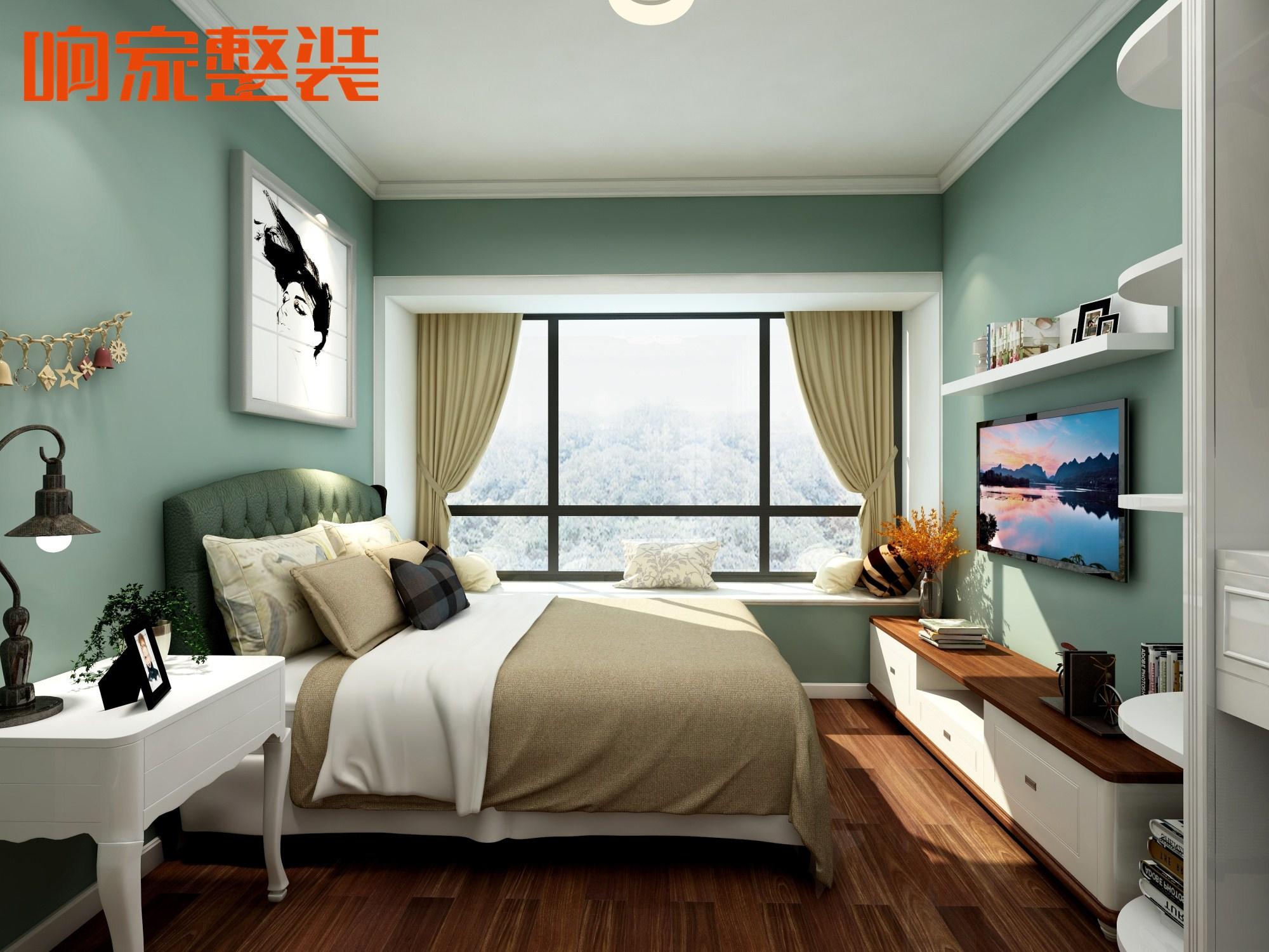 5北欧装修风格响家整体卧室装修效果图.jpg图片
