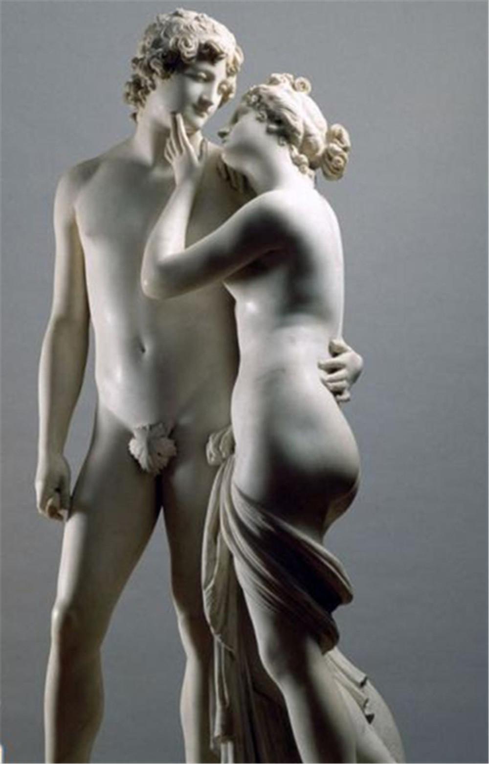 玻璃钢欧式浪漫情侣人物雕塑定做厂家