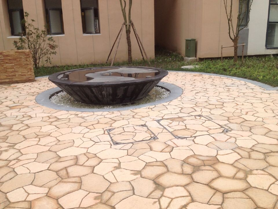 欧式庭院园林地砖