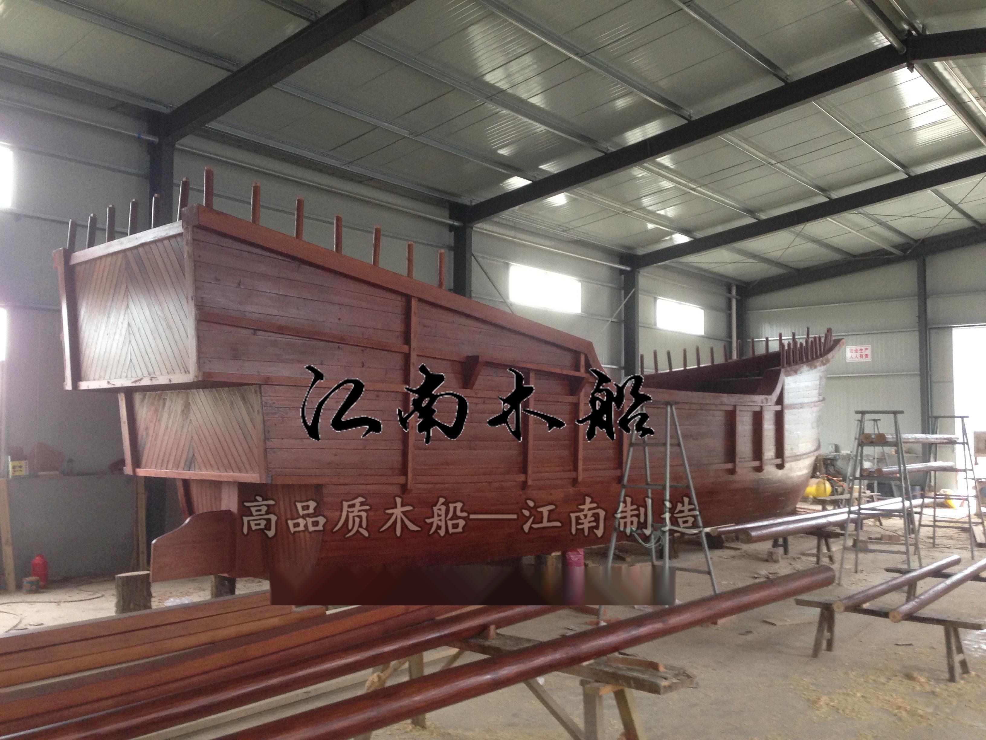 大型景观木船 海盗船 装饰木船 传统木船 大型画舫船