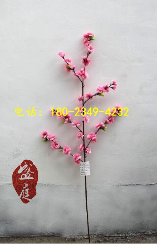 桃树杆简笔画图片