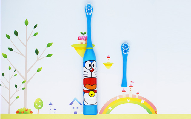 电动牙刷一件代发 全自动声波牙刷 卡通儿童电
