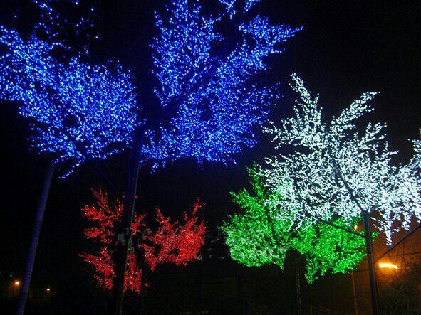 led发光树-桃花树灯,樱花树灯,枫叶树灯