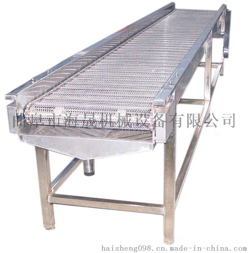 不锈钢网带输送机 网带式输送设备 食品带式输送机图片
