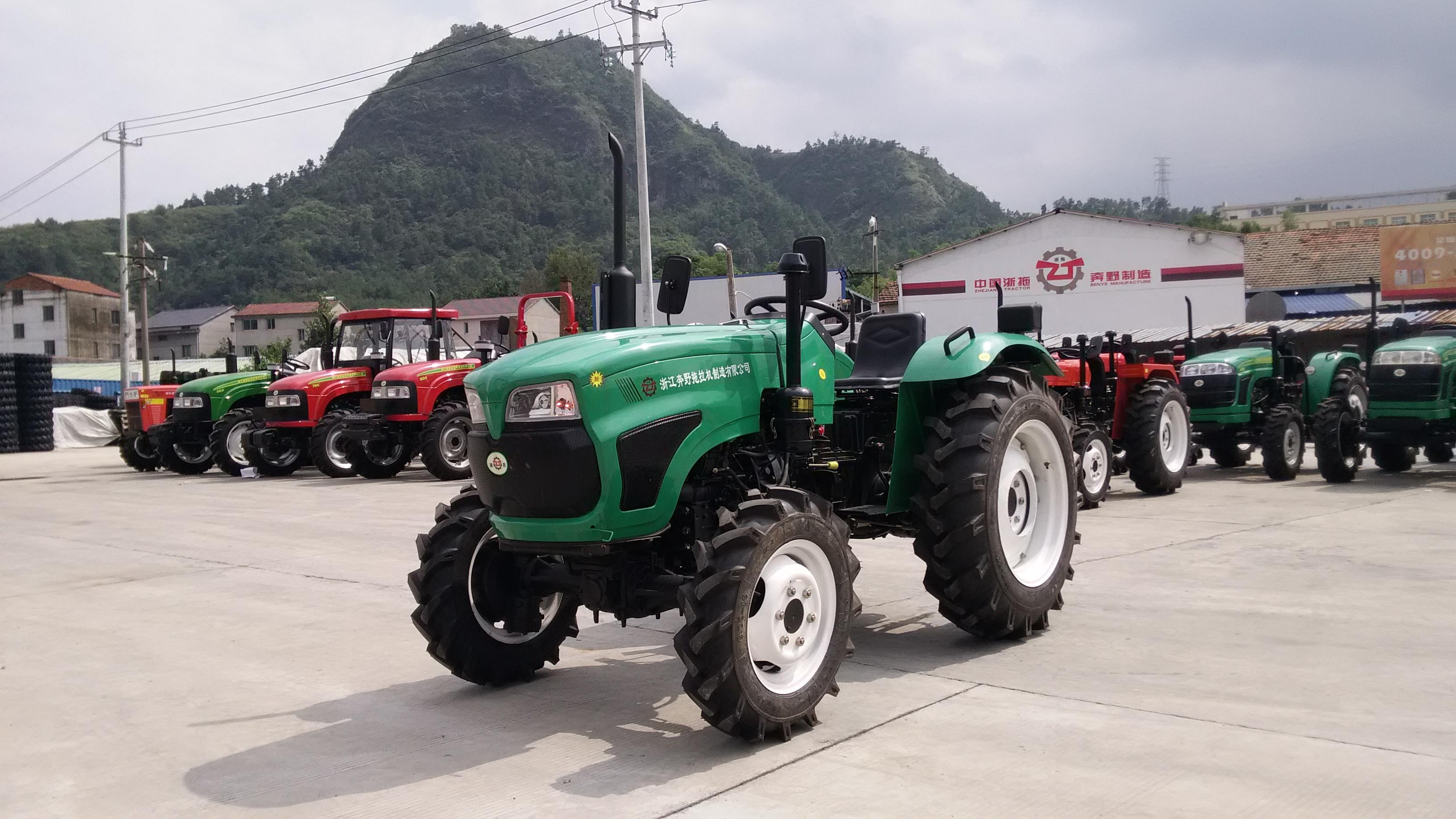 浙拖奔野zt354轮式农用拖拉机