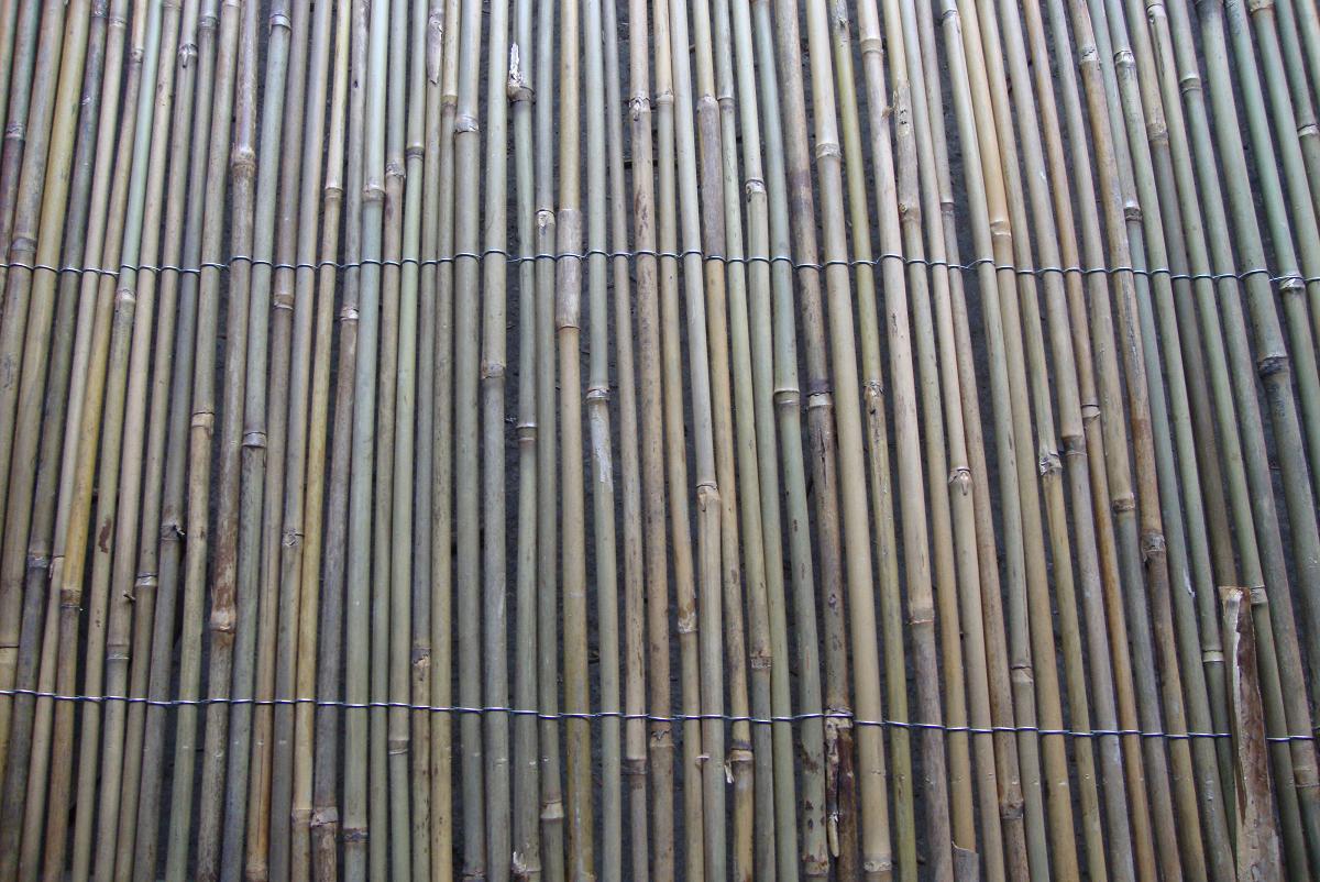 fd-1610274园艺花圃铁丝编织小竹竿篱笆