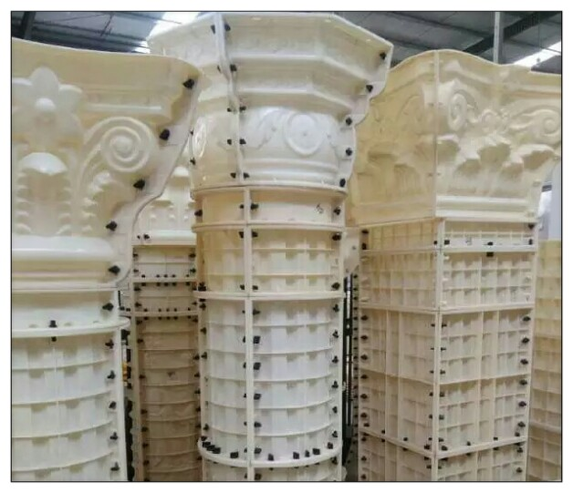海南罗马柱模具40型号