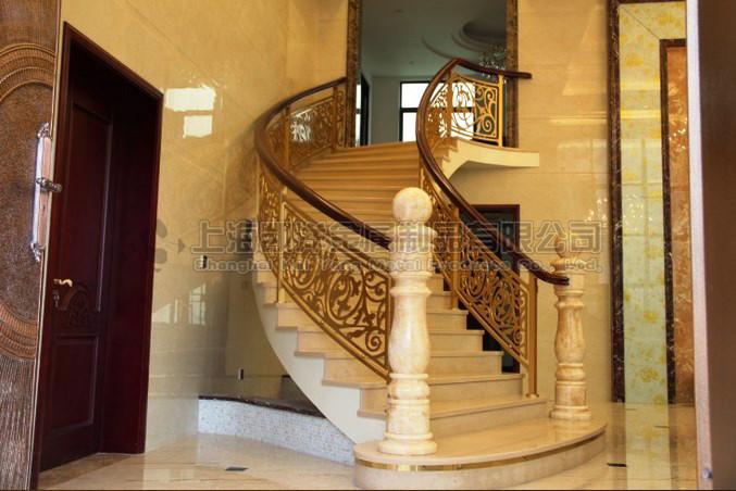 豪华欧式铜栏杆立柱 别墅铜艺栏杆