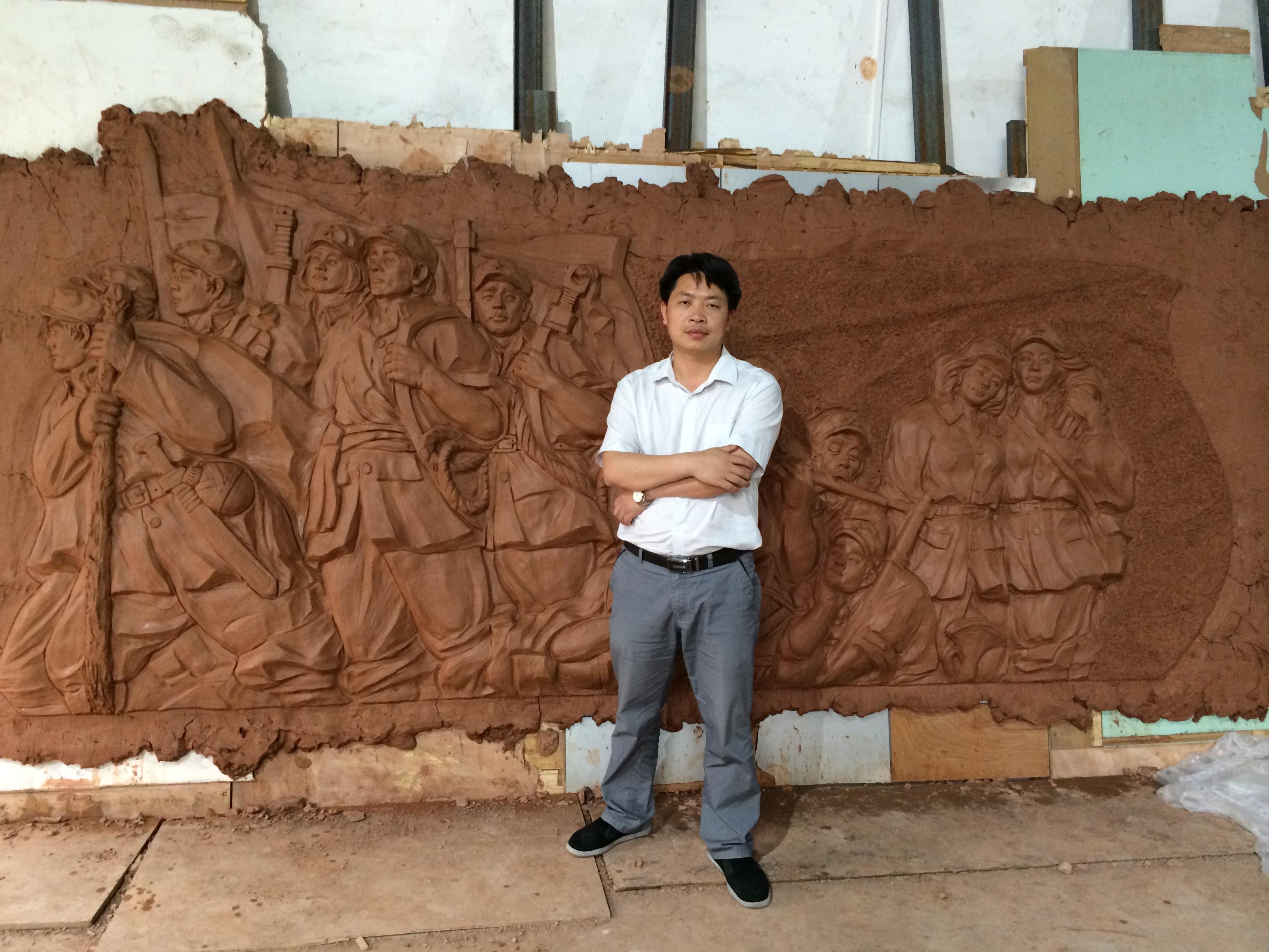 东莞校园文化浮雕雕塑