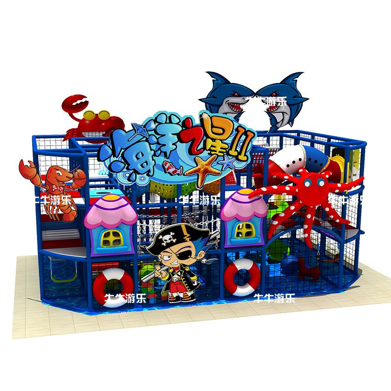 船系列 > 牛牛游乐 淘气堡儿童乐园室内设备大型儿童游乐场游乐园幼儿
