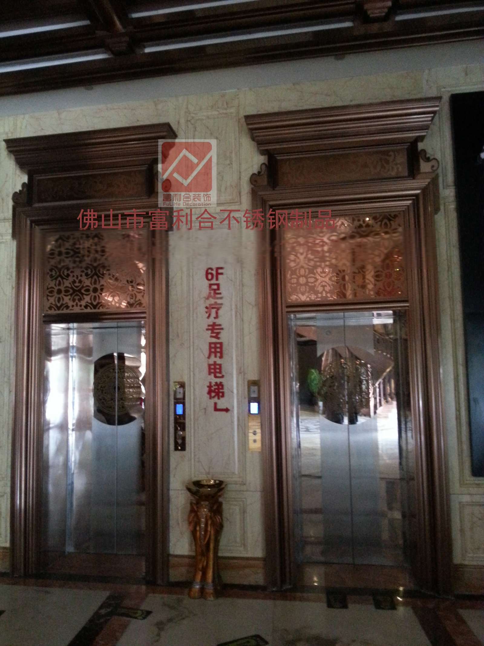 酒店大门线条 门套门框线条厂家