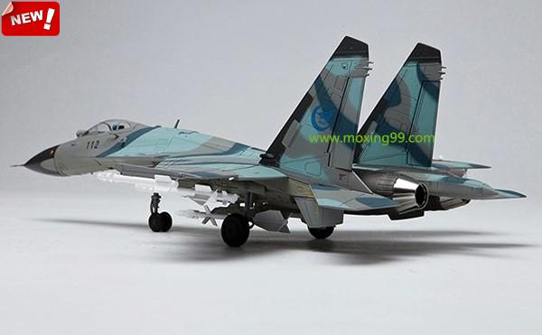 模拟苏27合金飞机模型礼品