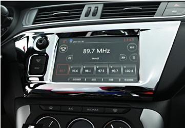 汽车改装中控面板导航面板空调面板