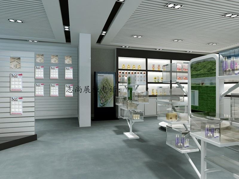 免漆柜台 中岛柜 设计各类产品展会展厅