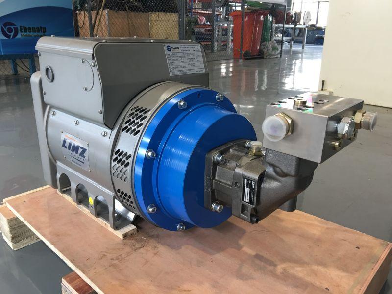 ebenalp ehg-15kva液压发电机 电磁发生器 起重电磁铁图片