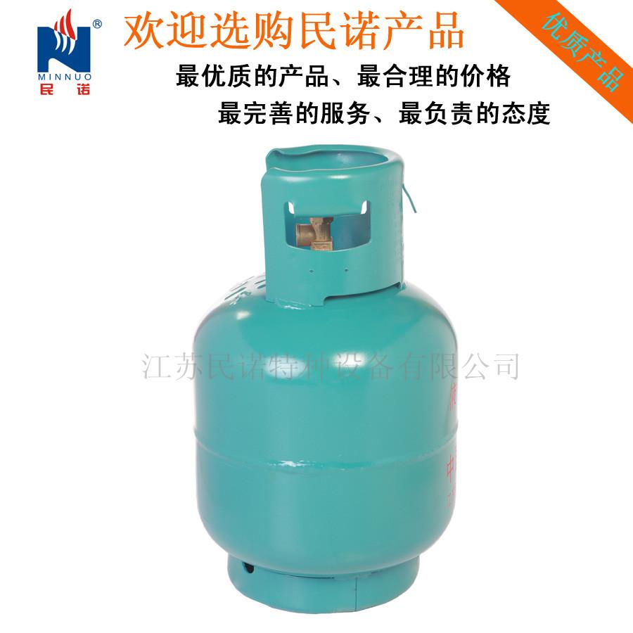民诺牌10kg液化石油气钢瓶23.5l煤气罐;液化气罐;液化图片