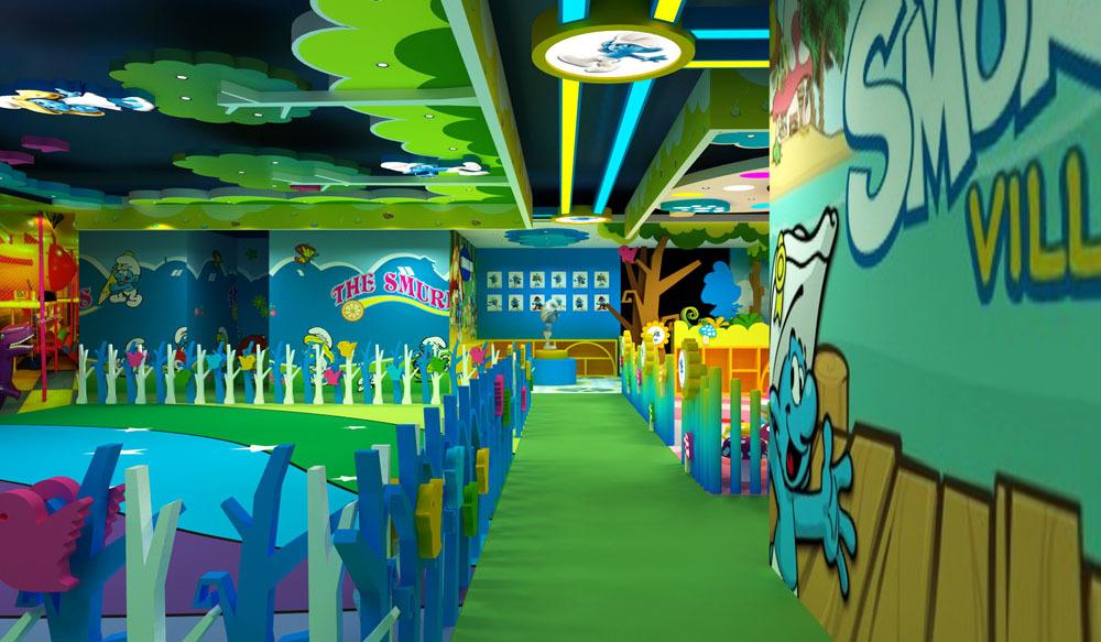 吉林室内儿童主题乐园整体规划,吉林游乐场新场景效果图片