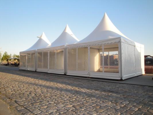 尖顶篷厂家定做批发户外白色欧式尖顶篷房展览活动棚子婚庆喜蓬