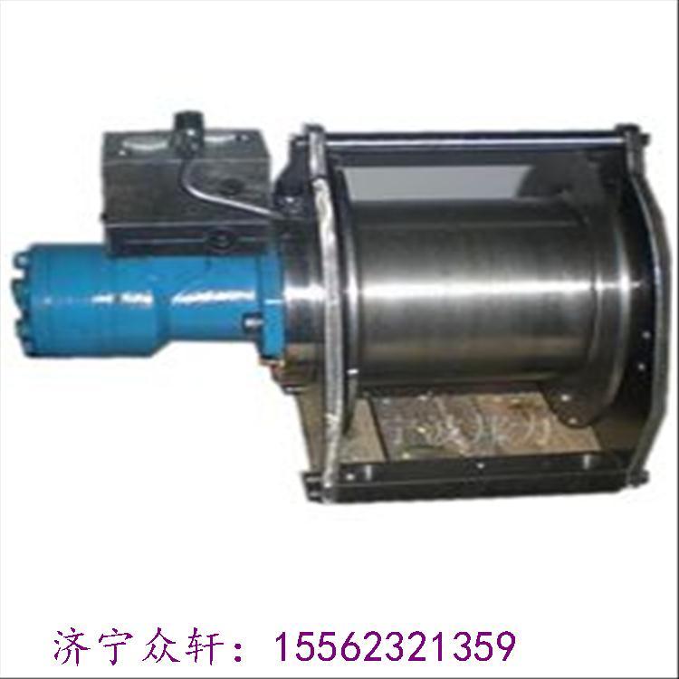 摆线式液压马达拉力稳定型液压绞车图片