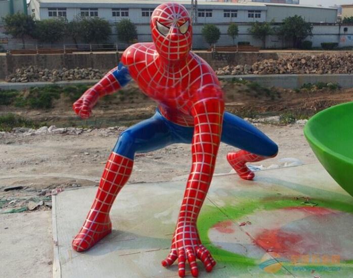 蜘蛛侠环保服装制作图解