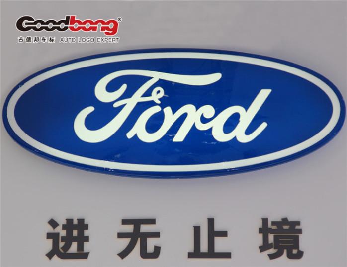 由於创建人亨利·福特喜欢小动物,所以标志设计者把福特的英文