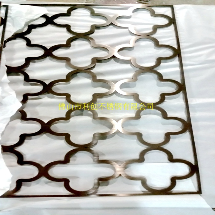 中式喷砂玻璃图案