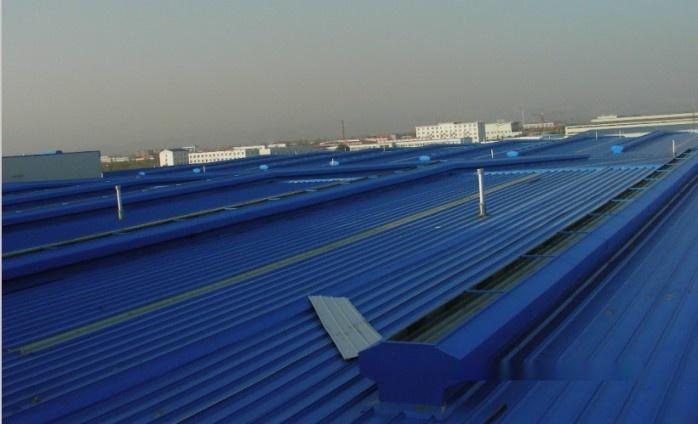 2006年6月 公司承接千岛湖康盛管业11874米600型通风气楼项目