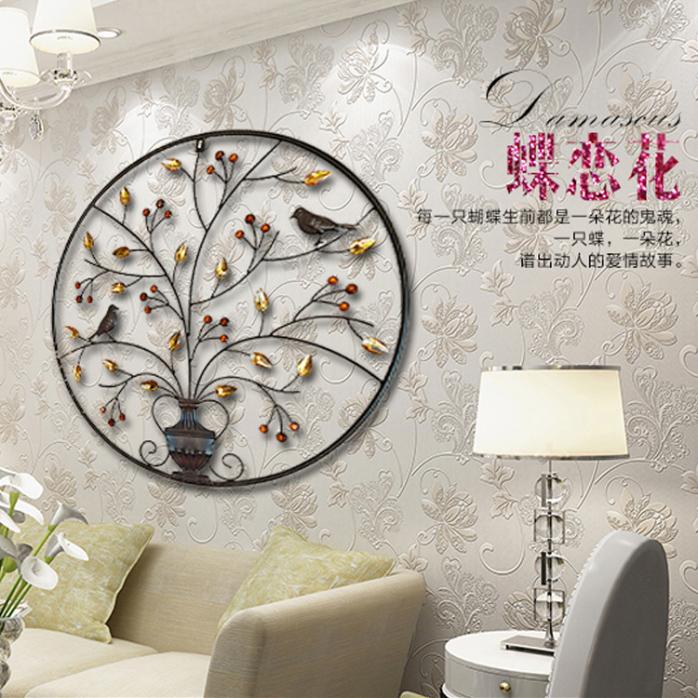 江西创客创意家居墙上装饰品客厅电视背景墙面壁挂铁艺立体壁饰餐厅