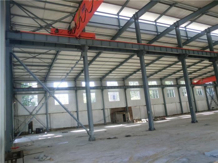 钢结构厂家承建钢结构厂房工程 轻钢结构框架安装简单