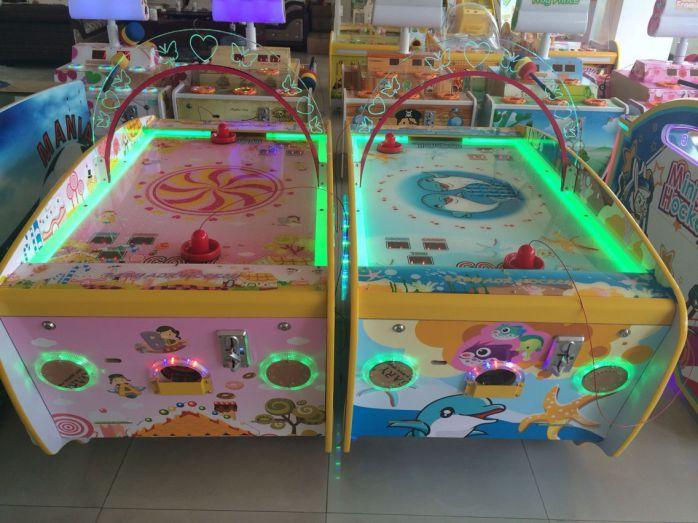 儿童游戏乐园设备_儿童电玩 设备 迷你气垫球