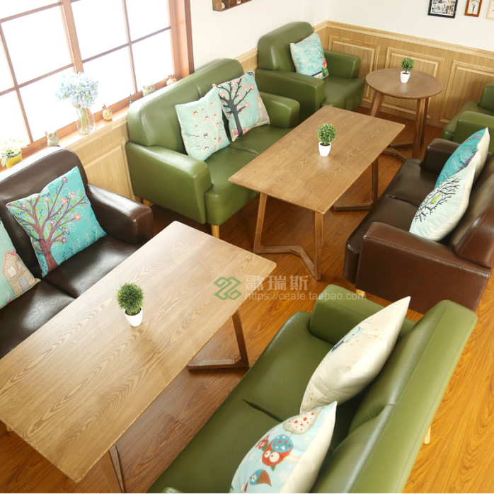 特价欧式小户型布艺单人双人沙发酒店咖啡网吧电脑椅