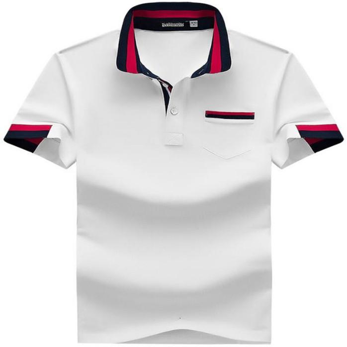 新款纯棉t恤定制logo文化衫来图定做可印图案翻领短袖