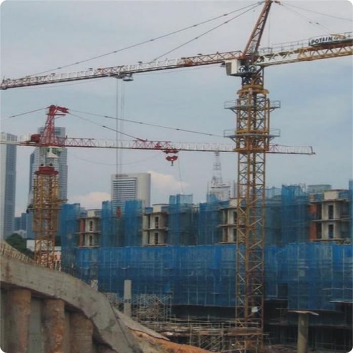 广州供应塔吊 塔机租赁 波坦塔吊 md208a大型建筑施工