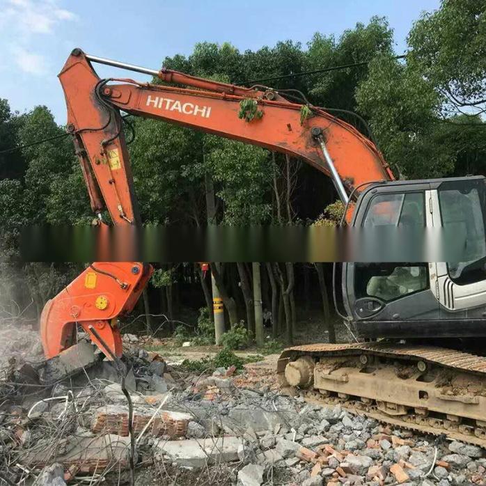 大型拆除液压钳,挖掘机液压粉碎钳,粉碎混凝土方法772195295图片