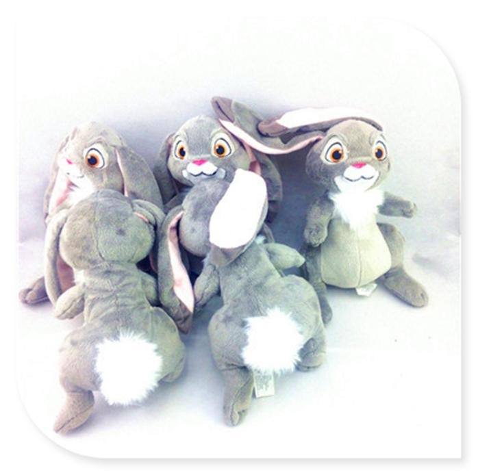 迪士尼小公主索菲亚clover兔子婴儿儿童节生日安抚毛绒玩具礼物