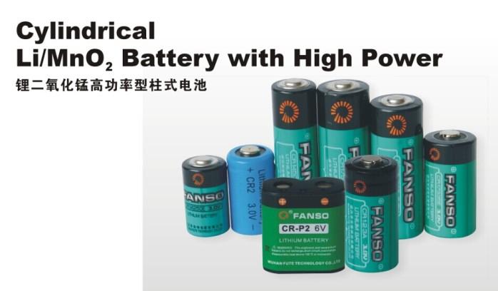 武汉孚安特cr-p2数码相机专用1400mah一次锂电池6v图片