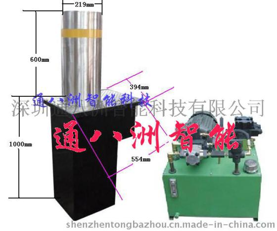 陕西西安反恐升降柱 电动液压升降柱图片