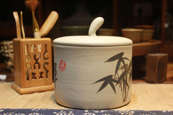 手绘 材质:陶瓷 品牌:长沙陶叶辰香陶艺 风格:中式