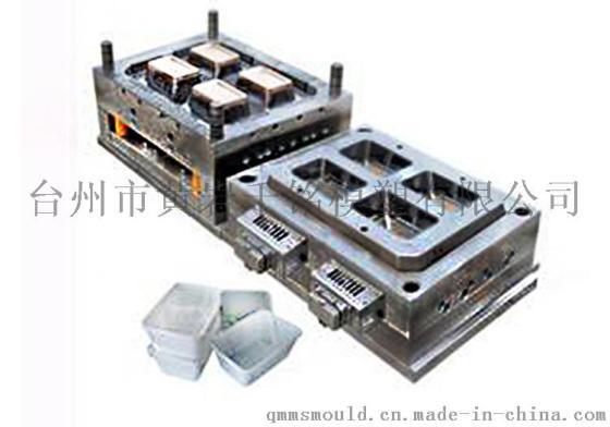 制造设计热流塑料模具成型机械供应模具道快餐盒模具精密模具加工绵阳西科大平面设计图片