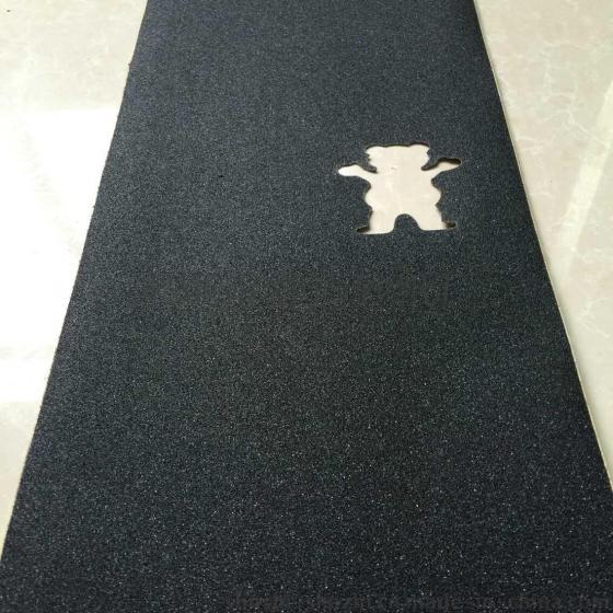舒适滑板专用小熊防滑砂纸 os780耐磨加厚滑板砂纸 来