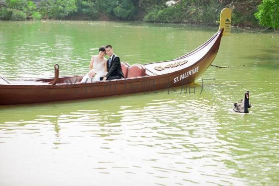 扬帆非遗传统手工木船,婚纱摄影专业船,摄影船,手划木船,欧式木船