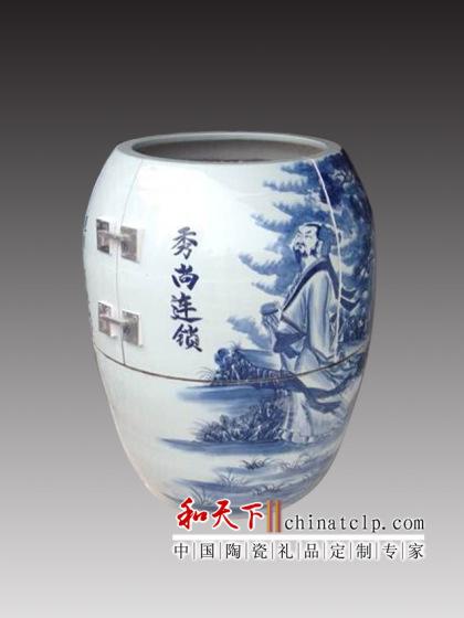 景德镇陶瓷养生瓮 负离子汗蒸房汗蒸瓮手工制作
