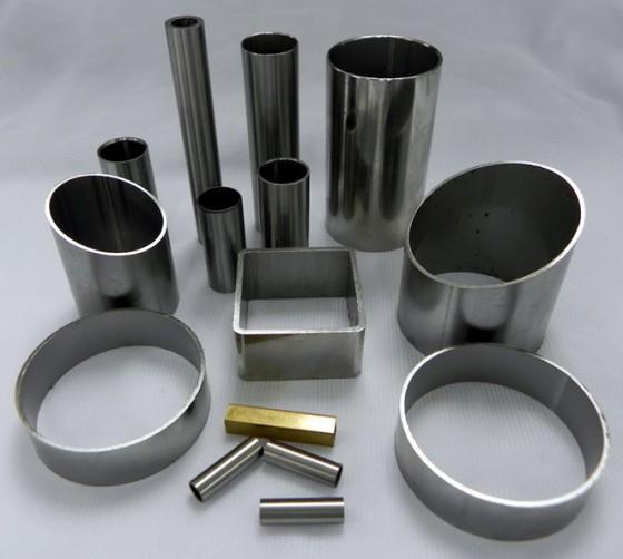 304不锈钢方通 机械结构用管图片