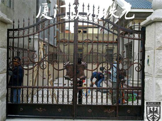 私人定制欧式入户门,高端别墅铁艺门